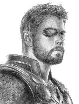 Thor (Avengers - Infinity War) by SoulStryder210