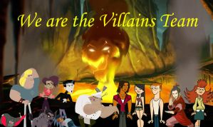 We Are the Villains Team by Uranimated18
