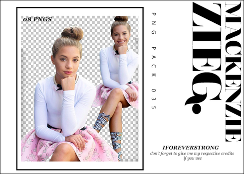 Pack Png 035// Mackenzie Ziegler by iForeverStrong