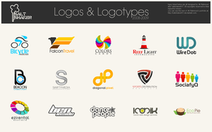 Logos and Logotypes by saltshaker911