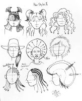 Draw More Hairstyles by Diana-Huang
