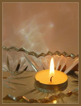 The Warm Light of Candle by Arinnka