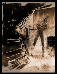 Silent Hill 2 Sketch by ChristianDiBari