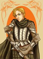 Brienne of Tarth by dances-with-hipsters