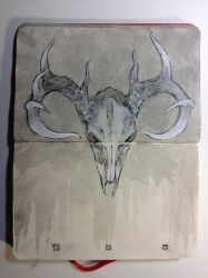 Sketchbook : Cervus by emonic1