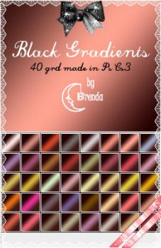 Black Gradients by Coby17