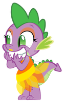Cindershy ~ The Ugly Stepsister Spikina by Magpie-pony