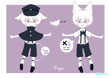 [ OC ] Ref for Fuyu by Swirly-Glasses