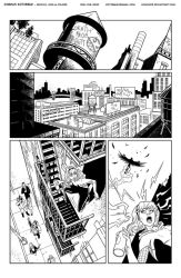 Spider-Gwen Inks Page 1 by Hominids