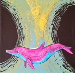 spectral dolphin by wimpod