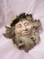 Carved face stock 3 by rustymermaid-stock