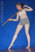 Giant Stick Lady [Pose Reference for Drawing] by SenshiStock