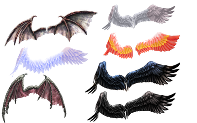 Ginjishi Wings DL LINK by DesertDraggon