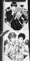 Haikyuu Ships x Food by Pozapple