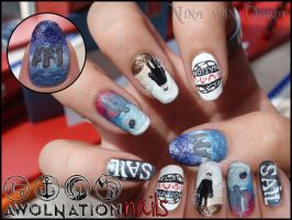 Awolnation nails 3 by Ninails