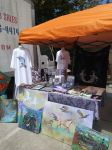 My Vending Booth and Products and T-shirts Sale by StephanieSmall