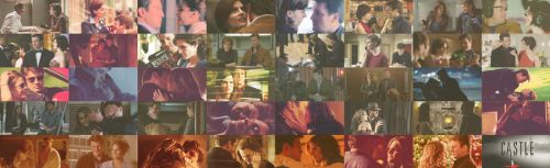 Caskett Moments - Fallinlove in five series by ZeroAkariYuuki