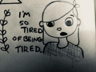 Tired. by KaysDoodles