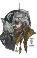Space Viking by khriztian