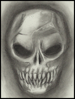 Skull by Cageyshick05