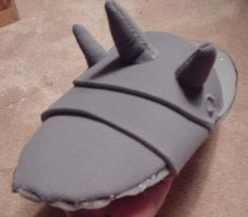 ALPHONSE COSTUME: Foot by elricest