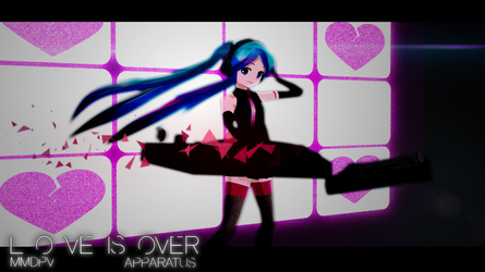 Love is Over- teaser image by Techycutie