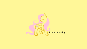 Fluttershy, pure and simple by littlexander