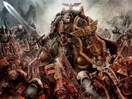 Black Templar Marshall by slaine69