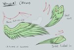 MLP:FiM   Wings reference sheet [Alicorn] by LividCreativity