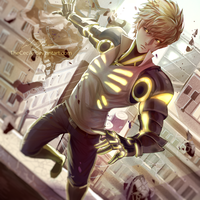 Genos (w/ speedpaint) by TheCecile