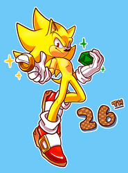 Super 26th by geckofeetart