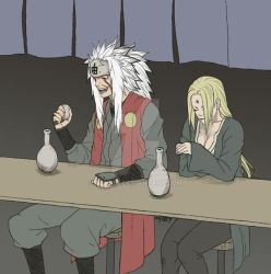 Commission-Jiraiya and Tsunade by osy057