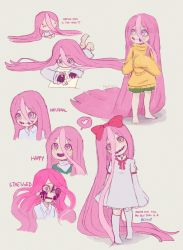 Pink hair... by Roshimii