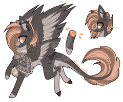 Licilla pony design by Chloodle