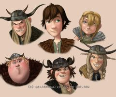 How to Train Your Dragon by MelissaDalton