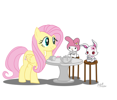 Kindness Tea Party (Commission Part 3 of 6) by SeiferA