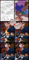 Mazinger process by FranciscoETCHART