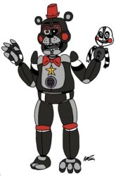 [FNaF] Fan-Made Funtime Lefty Concept by PixelKirby340