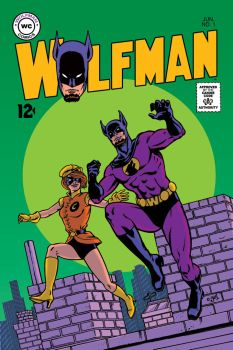 Wolfman cover #1 by DoodleLyle