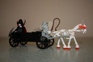 Lego Reaper's Chariot by LucifersLego