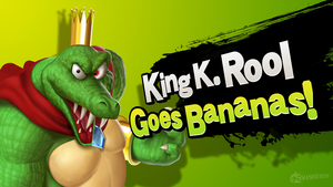 King K. Rool Goes Bananas! by hextupleyoodot