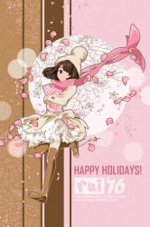 Pink and White Holidays by ruistyfles