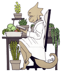 Day 15: Succulents [Inktober] by elleap