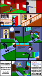 Michael The Wolf Comic - Coming Home and Relaxing by LevelInfinitum