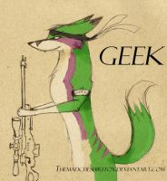 GEEK by MadCheshireFox