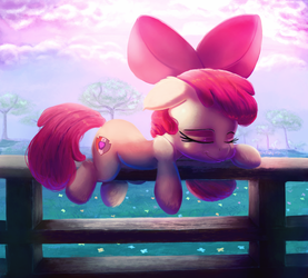 Sleeping Bloom by thediscorded