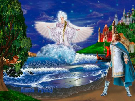 The Swan Princess by Lairiel-elvin