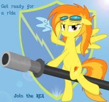 Join the REA by Spitshy