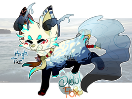 [Auction-Closed] High Tide SoulFox Adoptable by SetSaiI