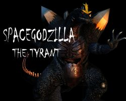 Spacegodzilla: The Tyrant by Lordstrscream94